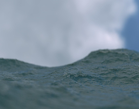 3D model animated Ocean