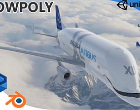 3D asset Airbus Beluga XL