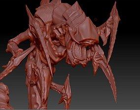 3D print model Crimson horror space bug