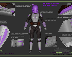 Bo Katan Full Armor Bundle The Mandalorian 3D print model