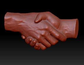 3D Handshake sculpture