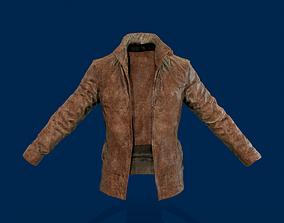 3D asset game-ready Cowboy jacket