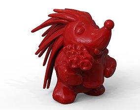 hedgehog spine 3D print model