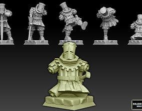 Black Knight Mediumpack 3D printable model