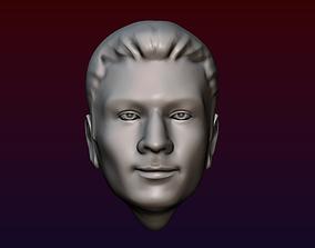 Man Head 1 kenny 3D printable model