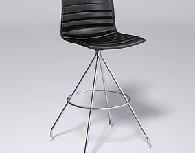3D Catifa 46 Leather stool - Arper