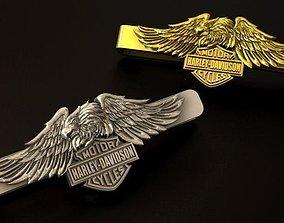 Harley Davidson Eagle tie clip 3D print model