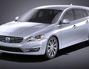 3D Volvo V60 2014 VRAY
