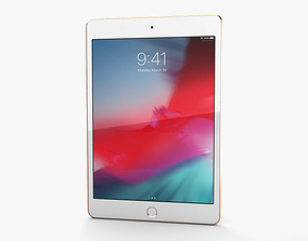 Apple iPad mini 2019 Cellular Gold 3D model
