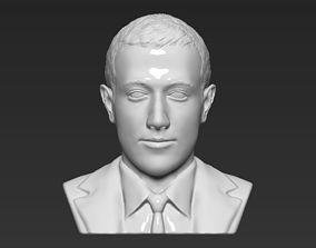 Mark Zuckerberg bust 3D printing ready obj stl formats
