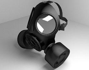 Gasmask 3D model