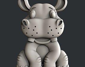 3d Models for 3d printer Hippo for kids