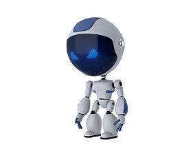 Animated Robot 3D model VR / AR ready