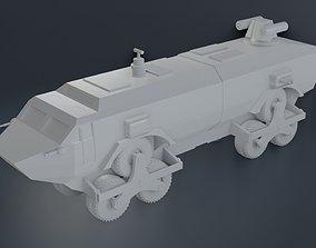 3D printable model landmaster damnation alley