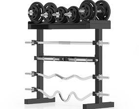 Weight Rack 1 3D