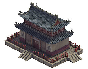 3D model Heyang City - Temple Hall