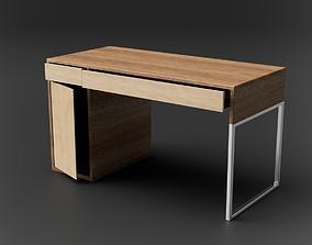 3D model Desk MICKE IKEA