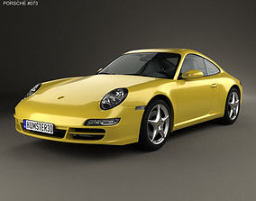 3D Porsche 911 Carrera 997 2005