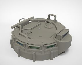 hatch of armored vehicles 3D