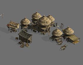 3D Primitive Tribe-Mao Cao Building 14