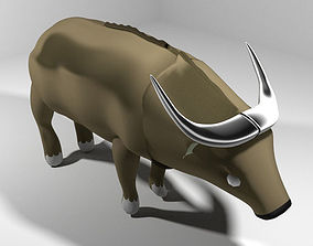Buffalo - Africa 3D model