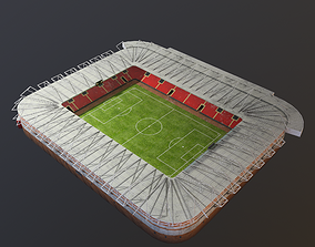 3D asset game-ready Stadium of st Mary