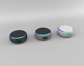 3D model Amazon Echo Dot 3rd Generation 2018 - All Colors