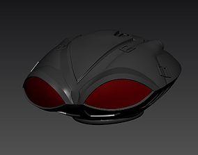 3D print model Black Manta helmet from Aquaman movie