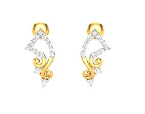 jwelery jewellery Women earrings 3dm render detail