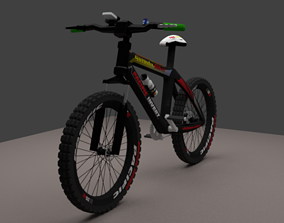 Very High detailed mountain bike 3D