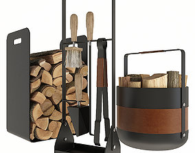 3D Fireplace Accessories