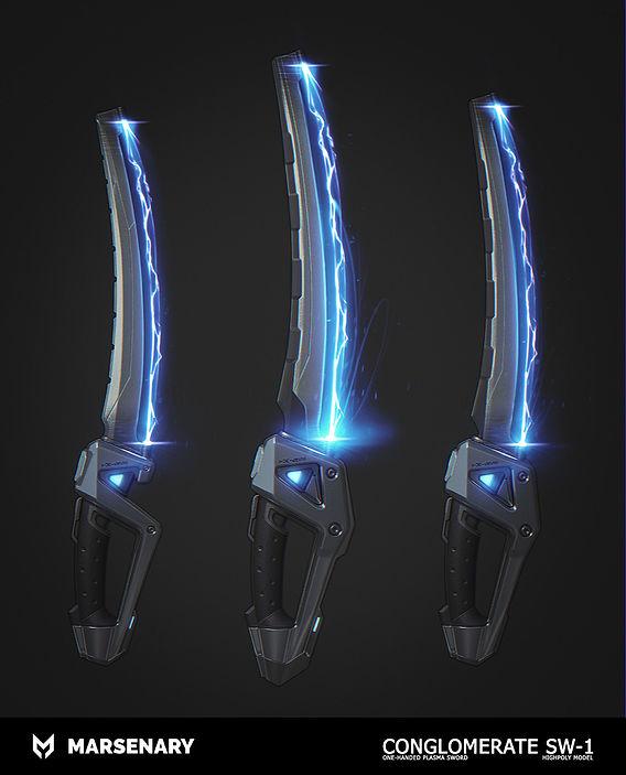 "Plasma Sword ""Conglomerate"" SW-1"