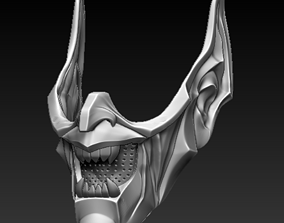Green Goblin Covid Face mask with filter 3d print