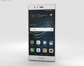 3D Huawei P9 Rose Gold