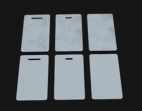3D asset realtime Keycards