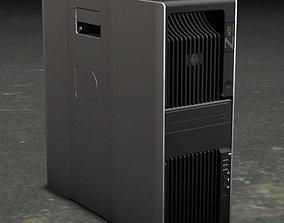 3D model computer hp workstation