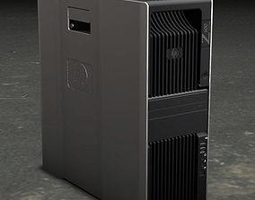 3D model hp workstation