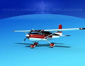3D Cessna 172 Skyhawk 1958 V03