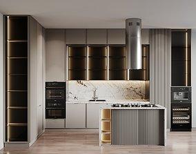 3D Kitchen Modern 39
