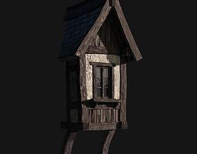 3D asset Tudor dormer