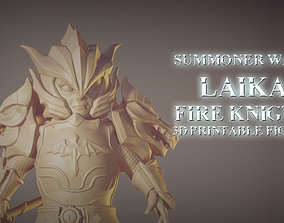 Laika Dragon Fire Knigth from Summoner Wars 3D printable