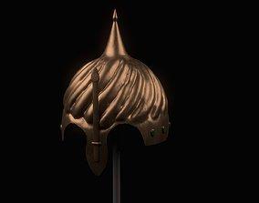 Helmet of Ottoman Soldier PBR Low Poly 3D asset