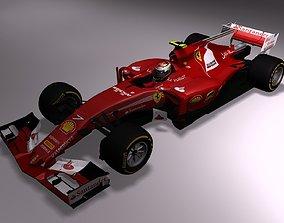 VR / AR ready Ferrari F1 2017 SF70H 3D
