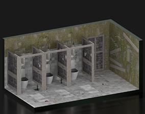 3D asset Toilet form SEX educaion