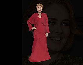 Adele ready for full color 3D printing grammy