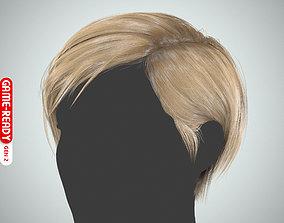3D asset Hair - Pixie - Gen2