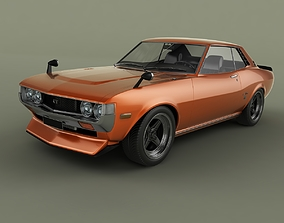 3D model Toyota Celica RA23 Coupe