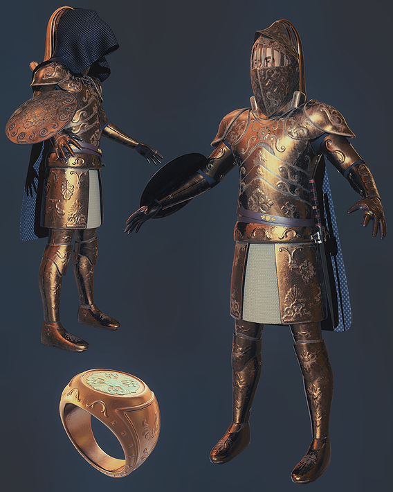 Knight Character Model