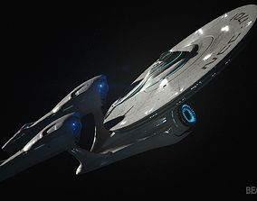 USS Enterprise from Star Trek 3D