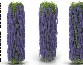 3D model Wisteria column